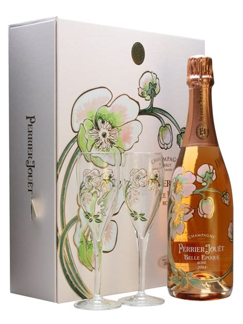 chagne rose perrier jouet belle epoque gift box gift ftempo