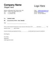 debt collection letter templates free best photos of debt collection letter debt collection
