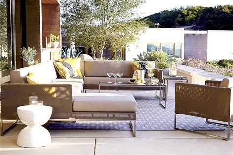 furniture outdoor sectional sofas with white ceramic