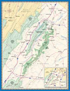 valley map shenandoah valley map washingtonian magazine