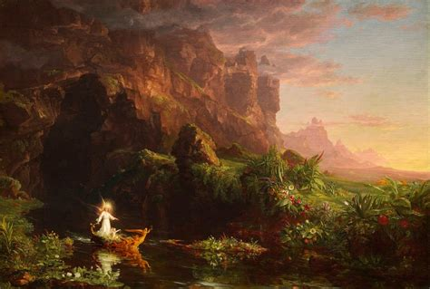 themes in the river god design haven what is romanticism