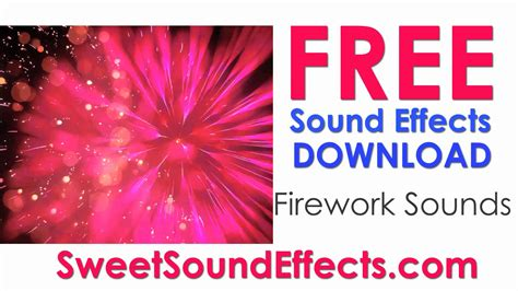 download youtube sound effects free firework sound effects youtube