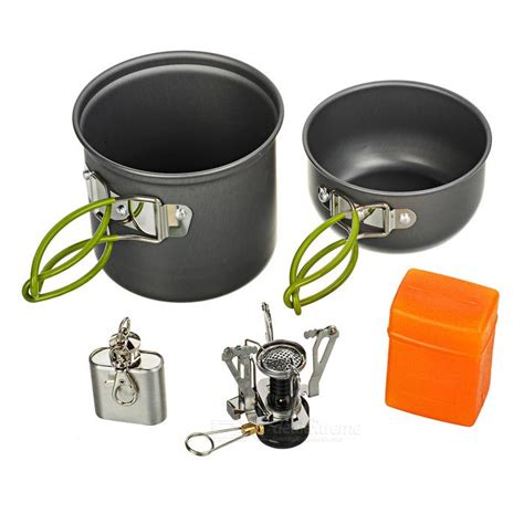 Cooking Set Ds 301 By Samosir Shop buy ds 301 cooking pots pans burner stove set 2 3 person