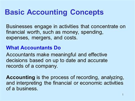 accounting accounting made simple for beginners basic accounting principles and how to do your own bookkeeping books basic accounting concepts ppt