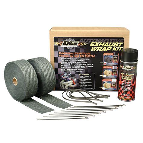 design engineer heat wrap design engineering dei010110 v8 exhaust header wrap kit