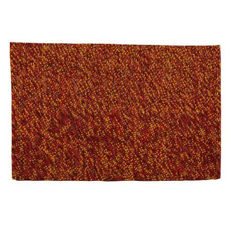 buy felt rug buy felt pebble rug rustic 110x170cm the real rug company