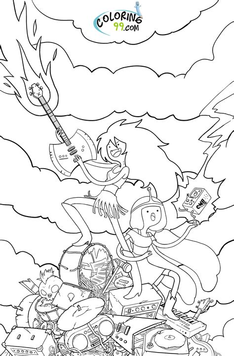 1000 ideas about adventure time coloring pages on