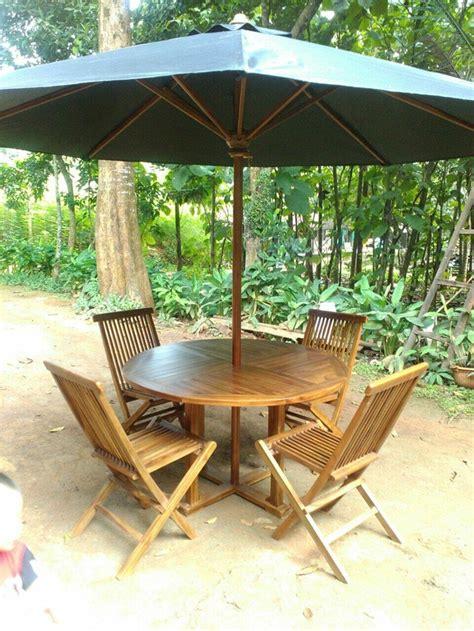 Kursi Lipat Rotan jual best meja payung kursi taman outdoor kursi lipat jati