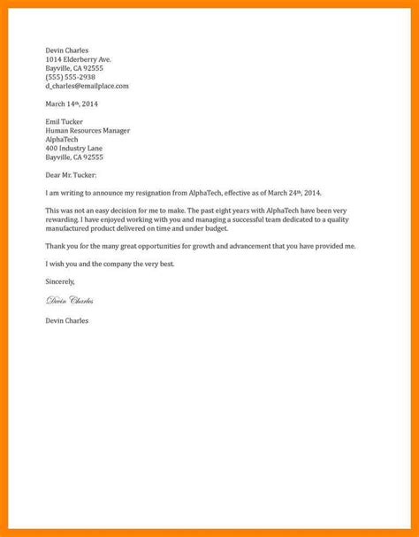 Free Sle Resignation Letter Word Format by Thank You Letter To Upon Resignation 28 Images 15 Resignation Letters Free Sle Exle Format