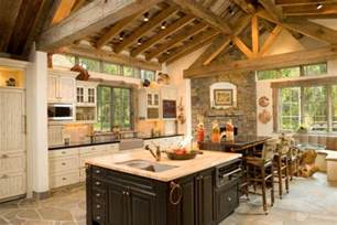Cabin Kitchen Design 15 Warm Amp Cozy Rustic Kitchen Designs For Your Cabin