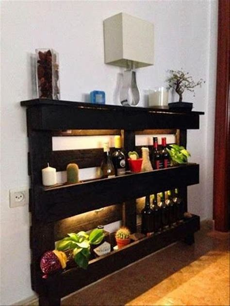 Bar Shelf Ideas by Its Easy To Create Pallet Wood Shelves Wood Pallet Ideas