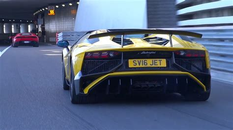 lamborghini aventador sv roadster with insane capristo exhaust lamborghini aventador lp750 sv roadster lovely exhaust sounds youtube
