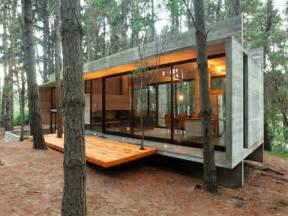 concrete block cabin plans