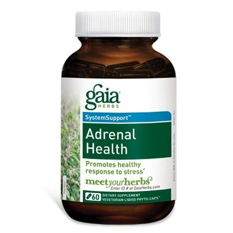 stress j supplement gaia herbs adrenal health 60 veggie liquid phyto caps