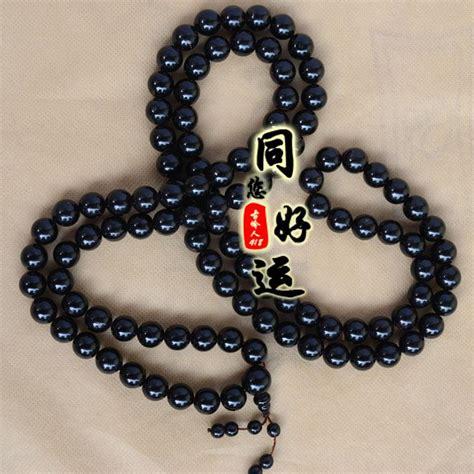 buddha bead necklace 2017 108 buddha black coral sea cycads 12mm