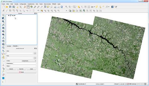 tutorial de qgis 2 12 qgis 2 0 mosaico de imagens landsat 8 qgis brasil
