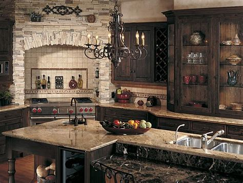 rustic kitchen designs create a rustic kitchen design with the help of stone veneers
