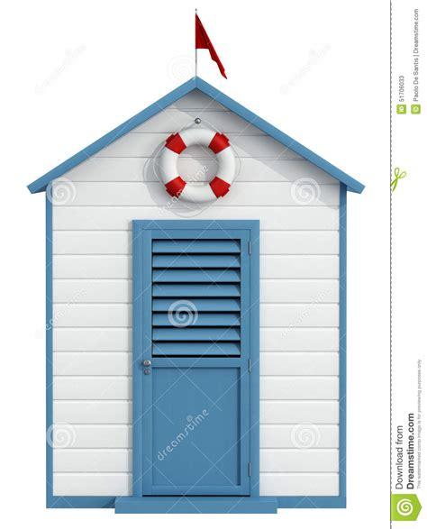 cabine spiaggia cabina della spiaggia illustrazione di stock immagine di