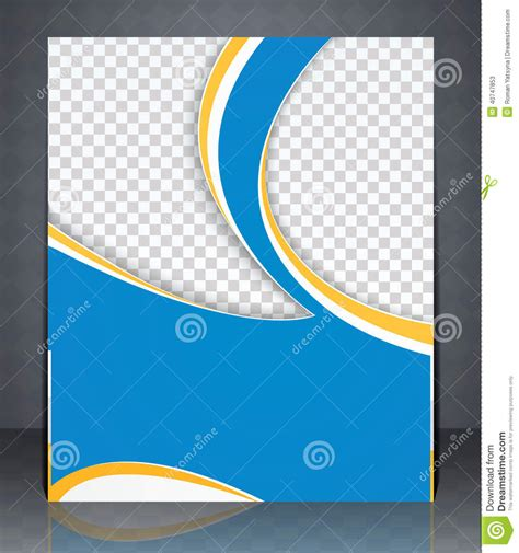 layout of a cover vector layout flyer magazine cover or corporate design