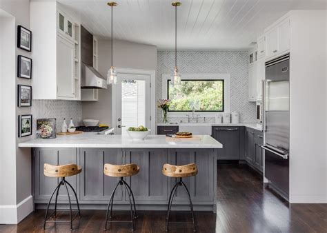 white cabinets gray walls small home with big style warm grey walls base cabinets