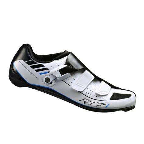 wide road bike shoes shimano r171 wide fit carbon road cycling shoes white