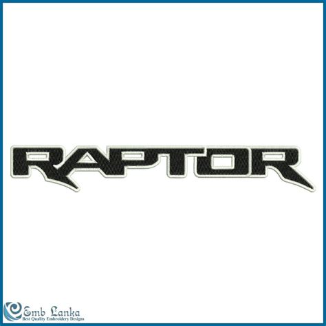 ford raptor logo ford raptor logo 2 embroidery design emblanka com