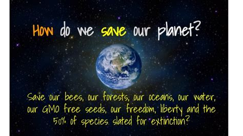 Save Our Planet saving our planet together with foundups 174