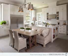 eat in kitchen island designs 15 traditional style eat in kitchen designs decoration for house