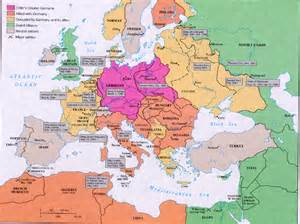 Ww2 Map Of Europe by Map Of Europe During Ww2