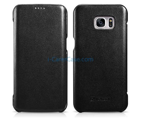 Bob Series Samsung Galaxy S7 Edge Leather Cover Usams icarer samsung galaxy s7 edge luxury series side open genuine leather