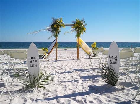 beach wedding decor ideas bamboo arbors style wedd