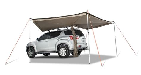 foxwing awning review rhino rack foxwing awning by oztent 4x4 gear reviews