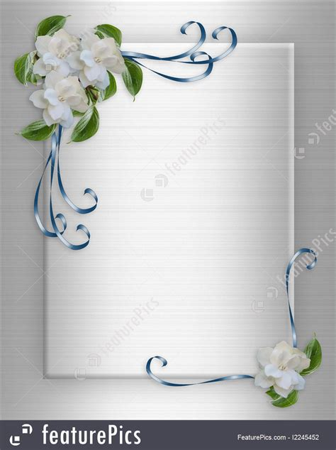Wedding Invitation Letter Background wedding invitation background gardenias