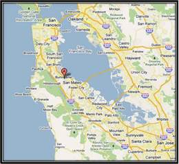 burlingame california map burlingame gift delivery