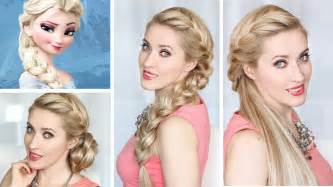 lilith moon hair tutorials frozen elsa braid hairstyle new year s eve hair tutorial