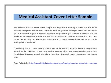 Jobs Resume Pdf by Medical Assistant Cover Letter Sample Pdf