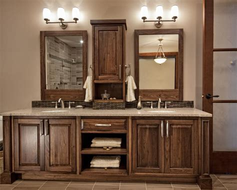 dark wood bathroom 20 stylish bathroom storage design ideas design trends