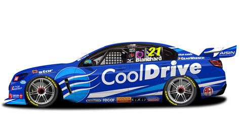 Tim Blanchard unveils 2017 Team CoolDrive livery   Supercars