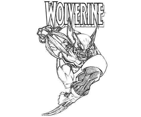 wolverine coloring pages printable free coloring pages of wolverine black