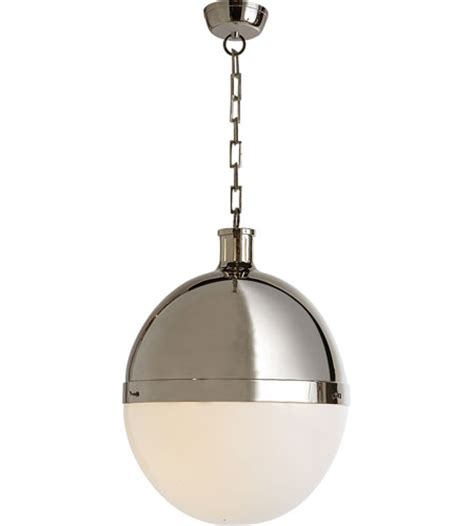 comfort lighting visual comfort thomas o brien hicks extra large pendant in