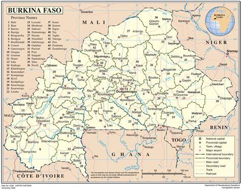 un cartographic section burkina faso ecoi net european country of origin