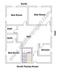 South Facing Duplex House Plans South Facing Houses Vastu Plan 2 Vasthurengan