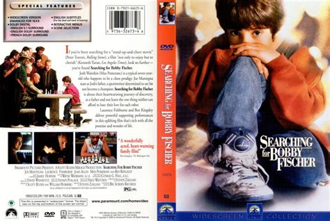 What Are Searching For Searching For Bobby Fischer Dvd Scanned Covers