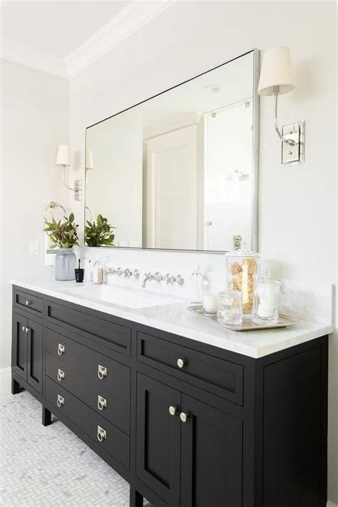 Black Cabinet Bathroom by Best 25 Black Bathroom Vanities Ideas On Black Cabinets Bathroom Powder Room