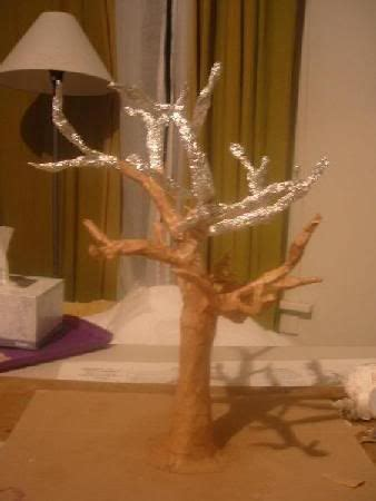 How To Make A Paper Mache Statue - 18 best photos of a paper mache tree how to make