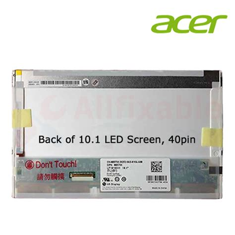 Lcd Led 10 1 Acer Aspire One 532h oem replacement for for acer aspire one 522 532h d150 d250