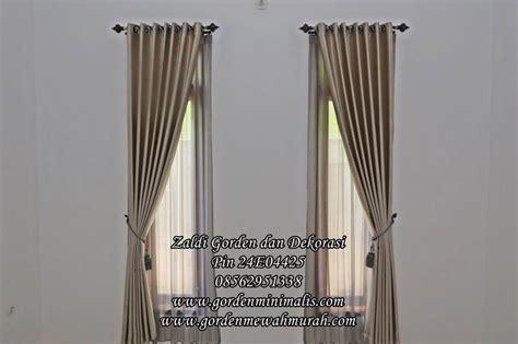 Gordengordynkordentirai Blackout 100 Import Original harga dan model gorden rumah minimalis terbaru bahan