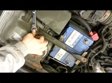 battery mazda 6 how to change replace battery mazda 6 2005