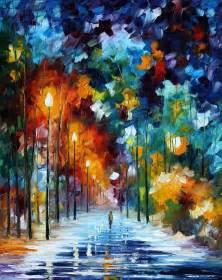 Buy Wall Murals Online leonid afremov oil on canvas palette knife buy original