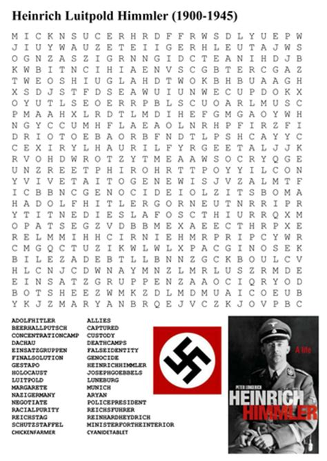 Germany Search The Gestapo Germany Word Search By Sfy773 Uk Teaching Resources Tes